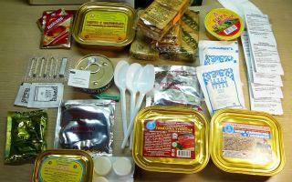 10 вариантов ирп: подробный обзор сухпайков разных стран