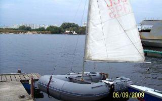 Как сделать парус на лодку пвх своими руками?