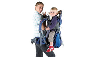 Как выбрать туристический рюкзак для переноски детей на спине