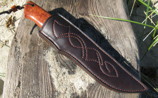 Как сделать ножны для ножа из разных материалов