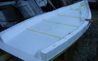 Лучшие способы, как сделать лодку из пенопласта: своими руками?