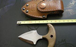 Тычковый нож своими руками