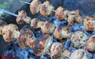 Как приготовить вкусные грибы на костре