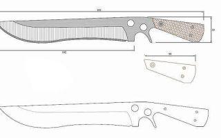 Как сделать охотничий нож: пошаговая инструкция