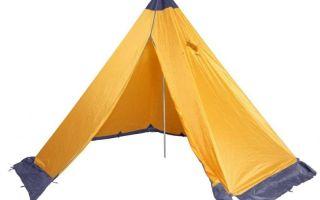 Палатки из тента – плюсы и минусы