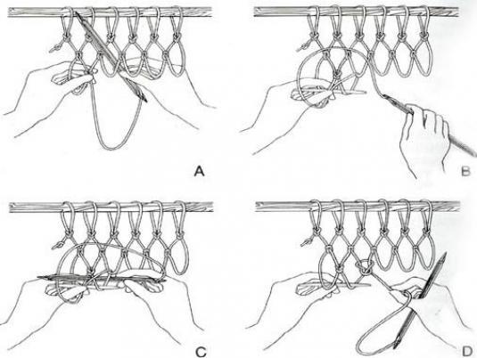 Как связать сетки рыболовные