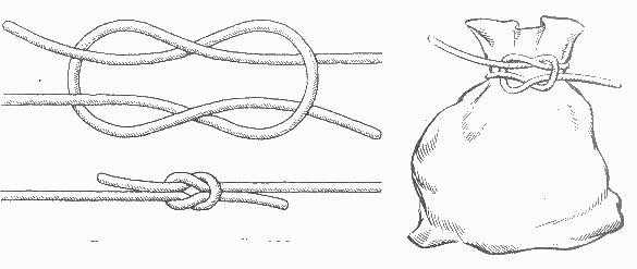 Морской узел как развязать